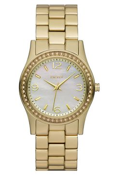 DKNY Small Round Bracelet Watch $155.00 at Nordstroms