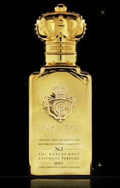 Clive Christian No 1. fragrance for Men  The World's Most Expensive Perfume, created without reference to cost, Clive Christian No1 for Men is the perfume of ultimate luxury. Understated yet richly distinctive, this refined perfume is rich with Ancient Indian Sandalwood. No 1 for Men represents an accomplished and uncompromising character.
