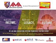 Visit AMA Education System in SM City Cebu Trade Hall Booth No. 215 from 10:00AM to 9:00PM on March 4-6, 2016 at the 17th Cebu Franchise Expo. See you there! Check AMA Education System Franchise website: http://amafranchise.amaes.edu.ph/ #FranchiseABE #FranchiseACLC #FranchiseACLCCollege #FranchiseSASN #FranchiseAMABasicEducation