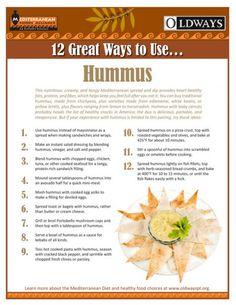 12 Great Ways To Use Hummus | Oldways