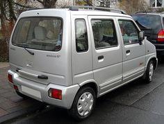 Suzuki Wagon R+ Rear