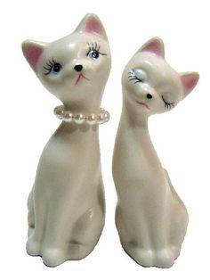 Vintage Cat figurines.