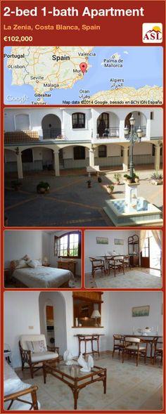 2-bed 1-bath Apartment in La Zenia, Costa Blanca, Spain ►€102,000 #PropertyForSaleInSpain