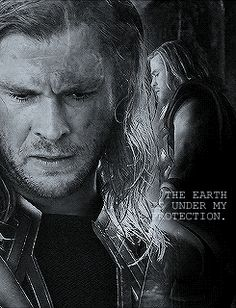 The earth is under my protection - Thor ~ Avengers