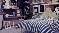 LeeHee & Jonesi Blanket & Pillow Recolor pt. 2 at Rachels Sim Stuff via Sims 4 Updates