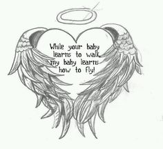 Love this!!!! How crazy that it's the exact heart and wings that I want for Haven?!?!