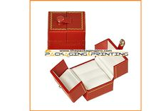 Chic double ring jewelry box - http://www.thepackagingpro.com/products/chic-double-ring-jewelry-box/