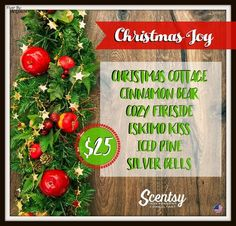 SCENTSY CHRISTMAS JOY BUNDLE: BUY 5 GET ONE FREE for $25 US | FALL.WINTER 2016/17