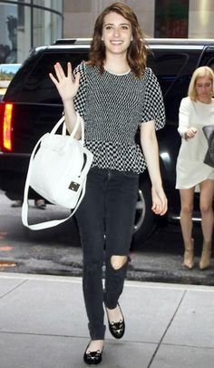 da0511457be1 Emma Roberts out and about in New York Emma Roberts Style