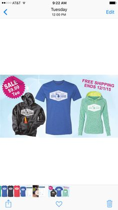 Don't miss the deals on our high quality apparel for your state! More states available.