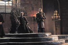 Lena Headey as Cersei Lannister and Nicolaj Coster-Waldau as Jaime Lannister in Game Of Thrones Season 7 -  HBO