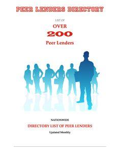 Peer Lenders Directory List  