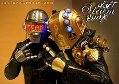 steampunk Daft Punk.  Cool.