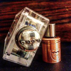 Digging these new #twisted #coils. #forsale #mint #review #dripper #vape by live_to_vape