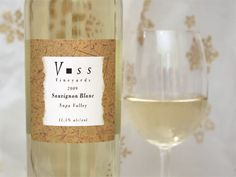 Voss Vinyards 2011 Sauvignon Blanc - fruity wine with light finish. not my favorite. ~$15 Wine Ratings, Fruity Wine, Sauvignon Blanc, Drinks, Bottle, Drinking, Beverages, Flask, Drink