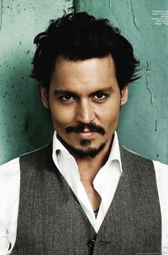 Johnny Depp.......whatever this look says....i'll do.....