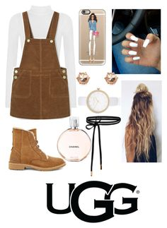 """The New Classics With UGG"" by emily5302 ❤ liked on Polyvore featuring WearAll, Casetify, River Island, Chanel, UGG and ugg"