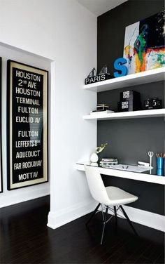 Modern Classy Small Home Office Ideas