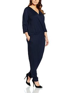12d00fc3bb1 Junarose Womens Plus Size Claras Jumpsuit Black Iris 3X -- Continue to the  product at