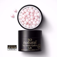Sonatural Moist Glow Pink Capsule Cream 50ml Korean Cosmetics #Sonatural