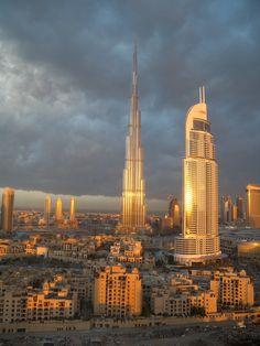Burj Khalifa at sunrise