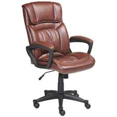 broyhill big and tall traditional executive office chair with wood