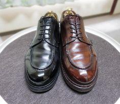 Paraboot この靴をハイシャインにする必要あるのかわかりませんが爪先をガッツリ削ってしまったのでキズ隠しにやってみました 傷は目立たなくなったと思います #paraboot #parabootchambord #chambord #shoes #shoecare #polish #highshine #シャンボード #パラブーツ #パラブーツシャンボード #紳士靴 #革靴 #靴磨き #シューケア #ポリッシュ #ハイシャイン #鏡面磨き