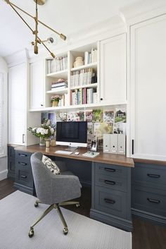 Stylish home office as seen in Homestyle Magazine April 2016 - Home on