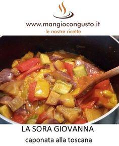La Sora Giovanna è la regina delle cene estive, con tutta la #verdura di stagione. #ricetta della #soragiovanna #toscana