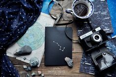 Black Metallic notebook-sketchbook with a by TheTwentyFingers