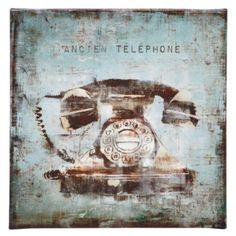 Vintage Telephone from #zgallarie