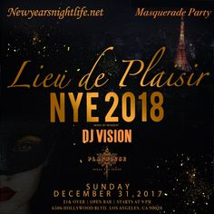 This New Year's Eve, go to Las Vegas without leaving LA. Party with DJ Vision + 5hr Open Bar on Dec. 31st at Playhouse Nightclub in Hollywood, at 9:00pm - 3:00am PST.
