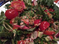 Salad with Freekah #AncientGrains