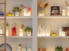 Led Cabinet Lighting, Strip Lighting, Kitchen Lighting, Accent Lighting, Lighting Ideas, Task Lighting, Lighting Solutions, Lighting Design, Kitchen Units