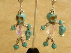 Halloween Earrings by medussas on Etsy, $15.00