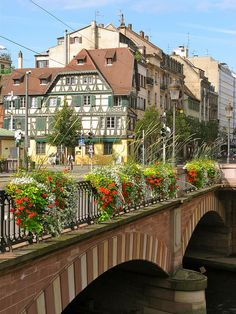 travel | le coeur de france - strasbourg - pont national, france