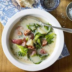 Sausage and Greens Soup