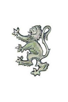Lion Rampant Antique Kilt Pin