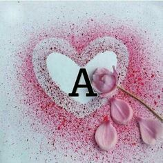 My Granddaughter I Love you today, tomorrow and forever. A Letter Wallpaper, Emoji Wallpaper, Heart Wallpaper, Alphabet Design, Alphabet Names, Alphabet Pictures, Love Heart Images, Stylish Alphabets, Flower Letters