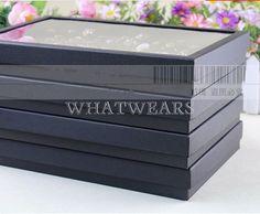 100 Slots Jewelry Display Storage Holder Box Organizer Earring Ring W8216 SUS AU $8.04