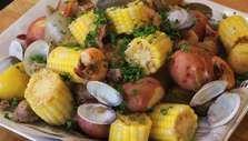 Clam and Shrimp Boil Recipe