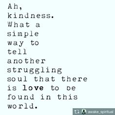 Repost from @awake_spiritual @TopRankRepost #TopRankRepost Too often we underestimate the power of a touch, a smile, a kind word