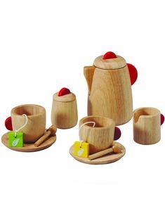 Wooden Tea Set - Norman & Jules