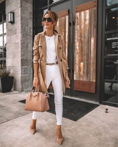 35 Fall Outfits Ideas For Women Street Style ; fall outfits for women 35 Fall Outfits Ideas For Women Street Style Casual Work Outfits, Business Casual Outfits, Mode Outfits, Classy Outfits, Stylish Outfits, Outfit Work, Business Attire, Fall Office Outfits, Outfit Office