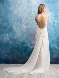 allure bridals fall 2018 bridal sleeveless halter neck heavily embellished bodice romantic soft a line wedding dress keyhole back chapel train bv -- Allure Bridals Fall 2018 Wedding Dresses Wedding Dress Pictures, Top Wedding Dresses, Bridal Dresses, Wedding Gowns, Wedding Ceremony, Wedding Tips, Lace Wedding, Ethereal Wedding Dress, Wedding Planning