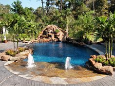 inground swimming pools images | ... addition (pool, pool/spa, outdoor kitchen, and other improvements