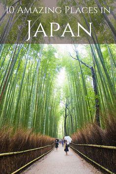 My ten favorite places between Kyoto and Hiroshima, Japan.                                                                                                                                                                                 More