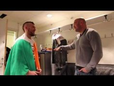 Watch Dana White Welcome McGregor To The UFC Following Conor's Debut