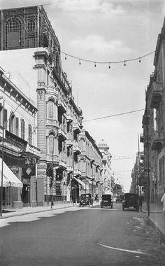 Street Scene of Fuad I Avenue in Alexandria. Photo by Lehn…   Flickr