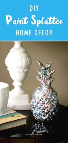 Give your favorite home decor items a funky makeover with this DIY Paint Splatte… Give your favorite home decor items a funky makeover with this DIY Paint Splatter Home Decor tutorial. Here, Elizabeth of Elizabeth Lampman transf ..  http://www.wersdecor.website/2017/04/29/give-your-favorite-home-decor-items-a-funky-makeover-with-this-diy-paint-splatte/